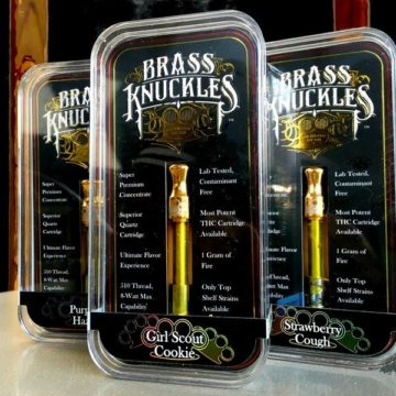 brass knuckles vape cartridge